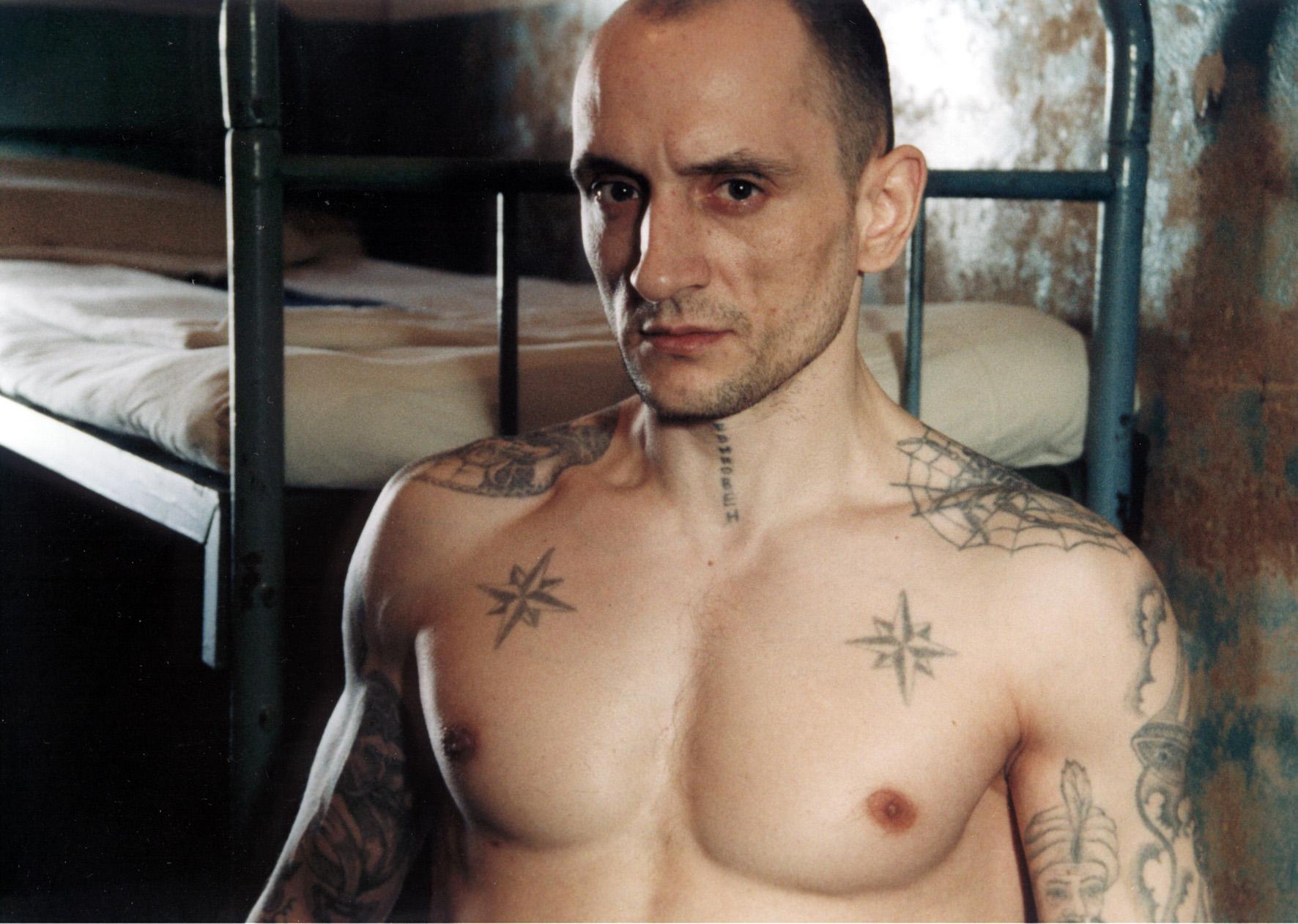 Тюремные татуировки звезды значение фото